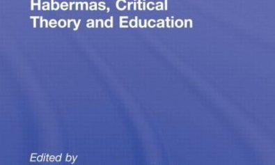 Out now in paperback: Habermas, critical theory and education