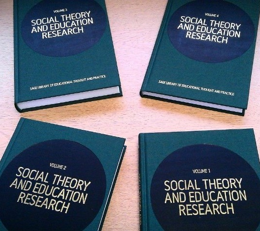 New Publication! 4-volume set on Social Theory and Education Research