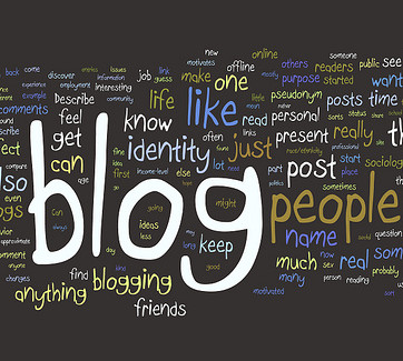 Using blogging in academic research