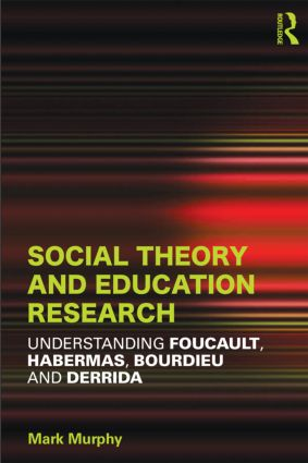 New Publication! Social Theory and Education Research