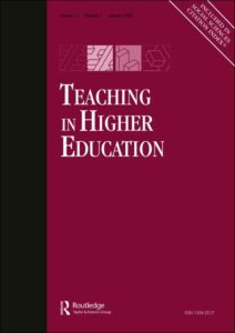 Raaper, R. (2018). Students as consumers? A counter perspective from student assessment as adisciplinary technology (Online First). Teaching in Higher Education.