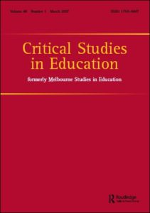 Raaper, R. (2018). Students' unions and consumerist policy discourses in English higher education. Critical Studies in Education