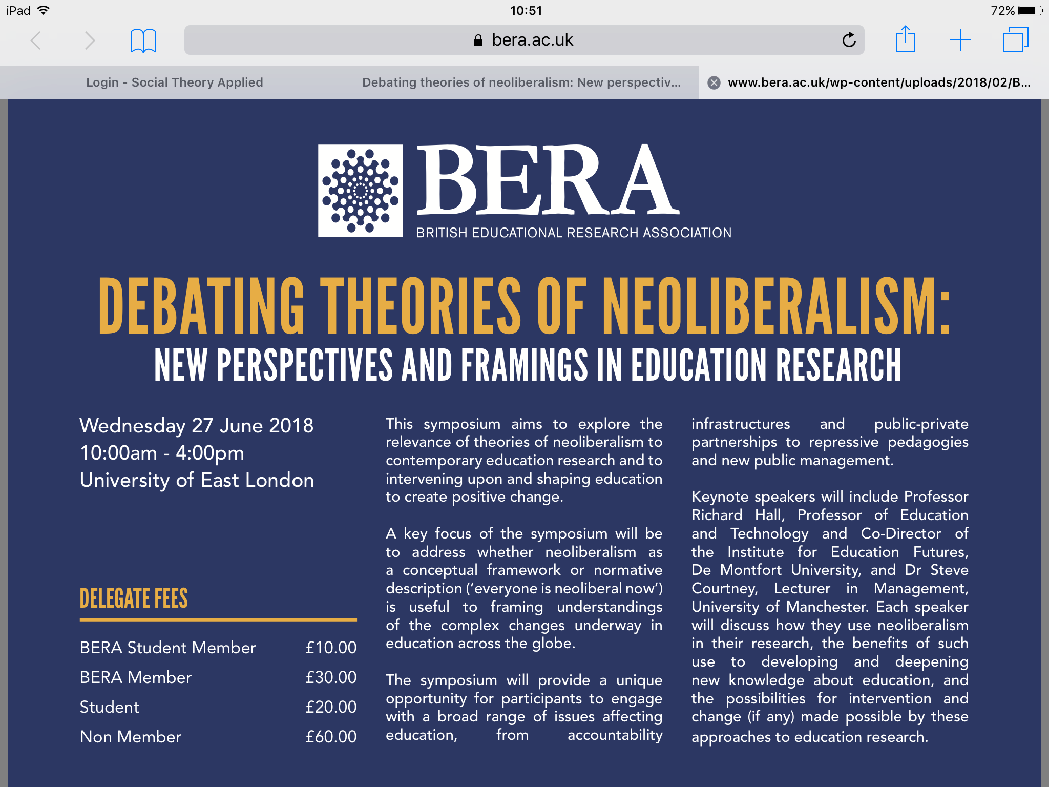 Debating theories of neoliberalism: New perspectives and framings in education research,