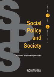 Murphy, M. and P. Skillen (2018) Exposure to the law: accountability and its impact on street level bureaucracy. Social Policy and Society. 17:1, 35–46.